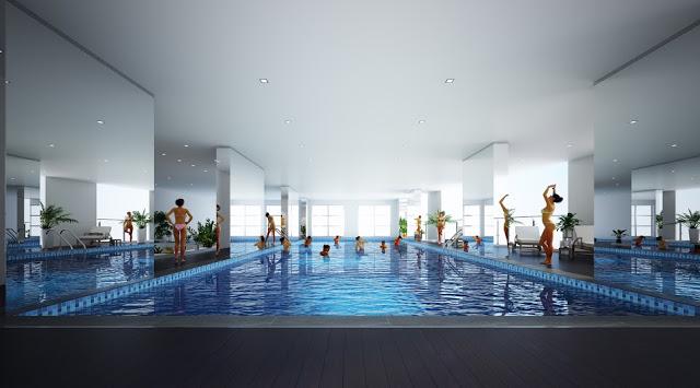 P.H Nha Trang có tiện ích bể bơi