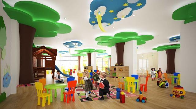 P.H Nha Trang với khu vui chơi cho trẻ em dự án